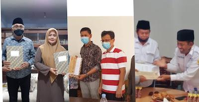 Memenuhi Syarat, KPUD Bima Serahkan Hasil Pemeriksaan Kesehatan ke Tiga Bapaslon