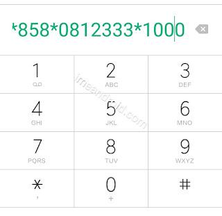 Cara transfer pulsa Telkomsel melalui panggilan