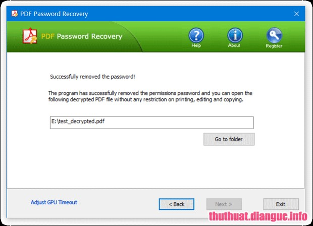 Download PDF Password Recovery Pro v3.2.1 Full Crack, Khôi phục mật khẩu tài liệu PDF, xóa mật khẩu PDF, phá mật khẩu PDF, PDF Password Recovery Pro, PDF Password Recovery Pro free download, PDF Password Recovery Pro full key