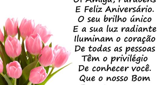 Mensagem Aniversario Amiga: Silva Andrea