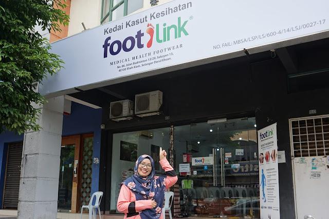 Footlink : Kedai Kasut Kesihatan Di Seksyen 13 Shah Alam