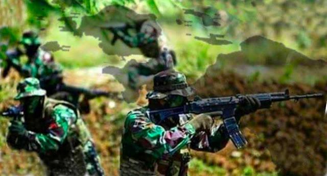 Kontak Senjata di Distrik Sugapa, Aparat TNI lumpuhkan 1 Anggota KSB