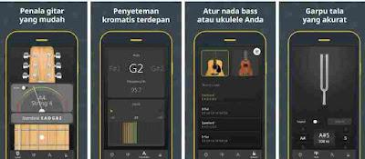 Aplikasi Menyetem Gitar – Ukulele, Gitar Akustik & Listrik