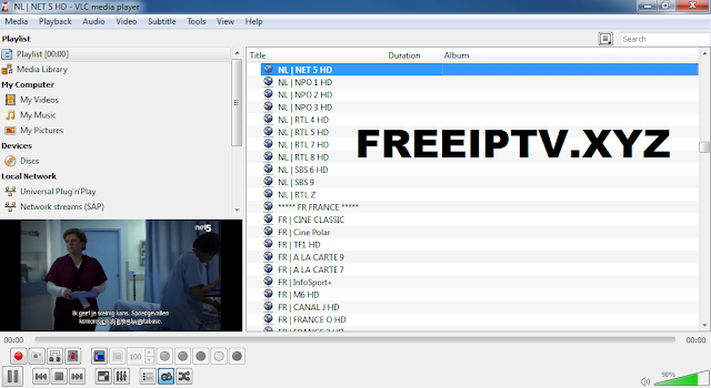 iptv free netherlands playlist m3u 09-10-2018