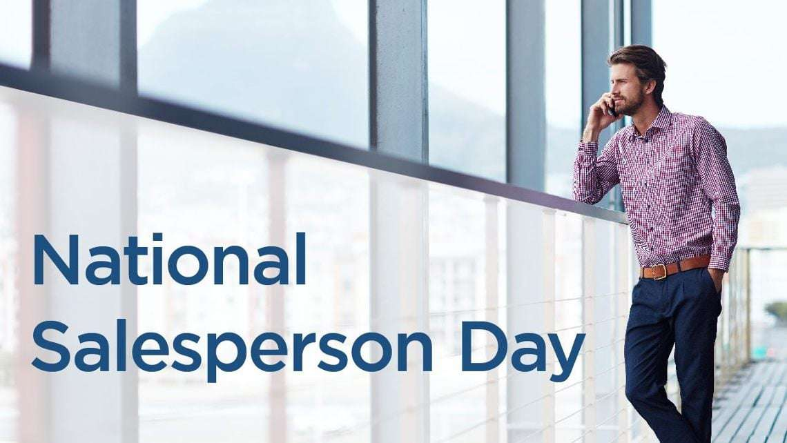 National Salesperson Day Wishes Awesome Picture