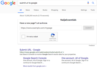 You Can Now Submit URLs to Google in Google's search results