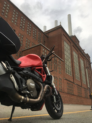 viaggio in moto a Copenaghen