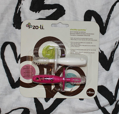 Zoli Chubby Gummy Gum Massager Teething Stick