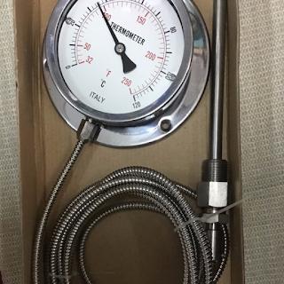 Đồng hồ đo nhiệt độ dạng dây Italy