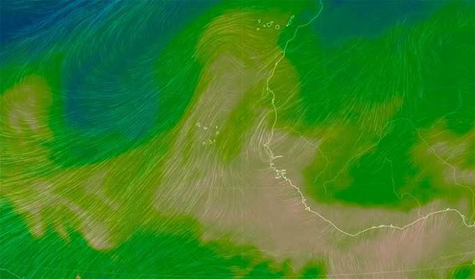 Con calima en Canarias hasta febrero 2020