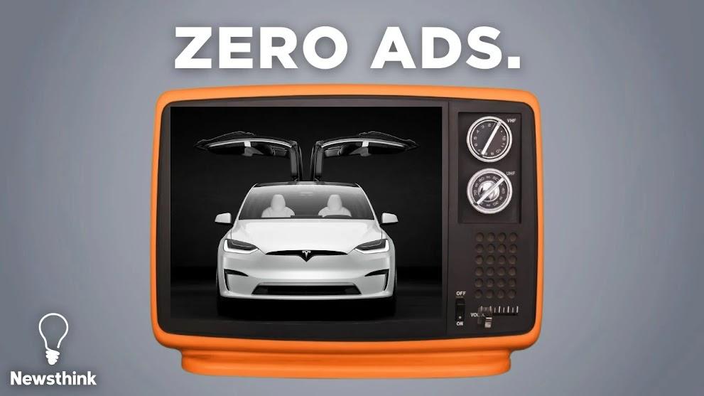 Why doesn't Tesla run ads? - Elon Musk