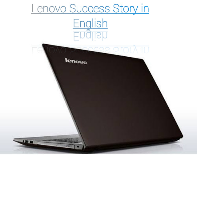 Lenovo Success Story in English