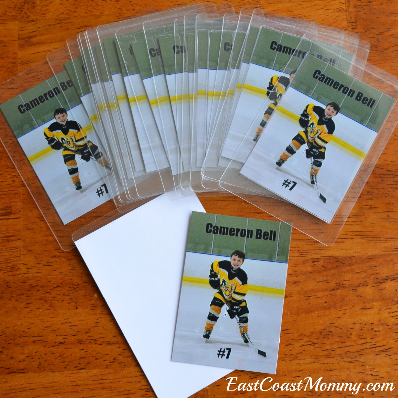 East Coast Mommy Hockey Party Loot Bags