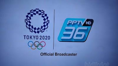Channel PPTV HD36 Pastikan Siarkan Olimpiade Tokyo