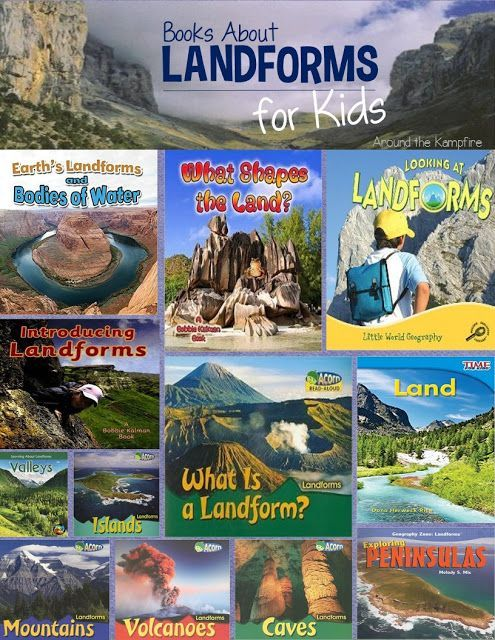 Landform reading nonfiction books teaching landforms hands on activity ideas for kids also experiments resources and  freebie rh elementarynest