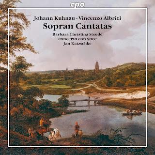 Johann Kuhnau; Vincenzo Albrici - Cantatas para soprano