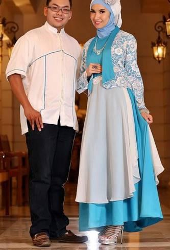 model kebaya brokat muslim untuk pernikahan