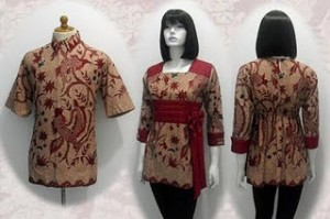 Model Baju Batik Couple Sarimbit Suami Istri BAJU BATIK MODERN