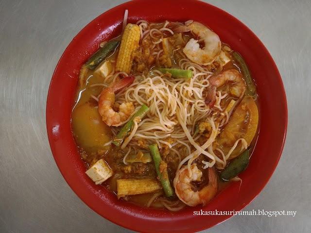 Resepi Bihun Kari Udang ; menu sedap berbuka puasa