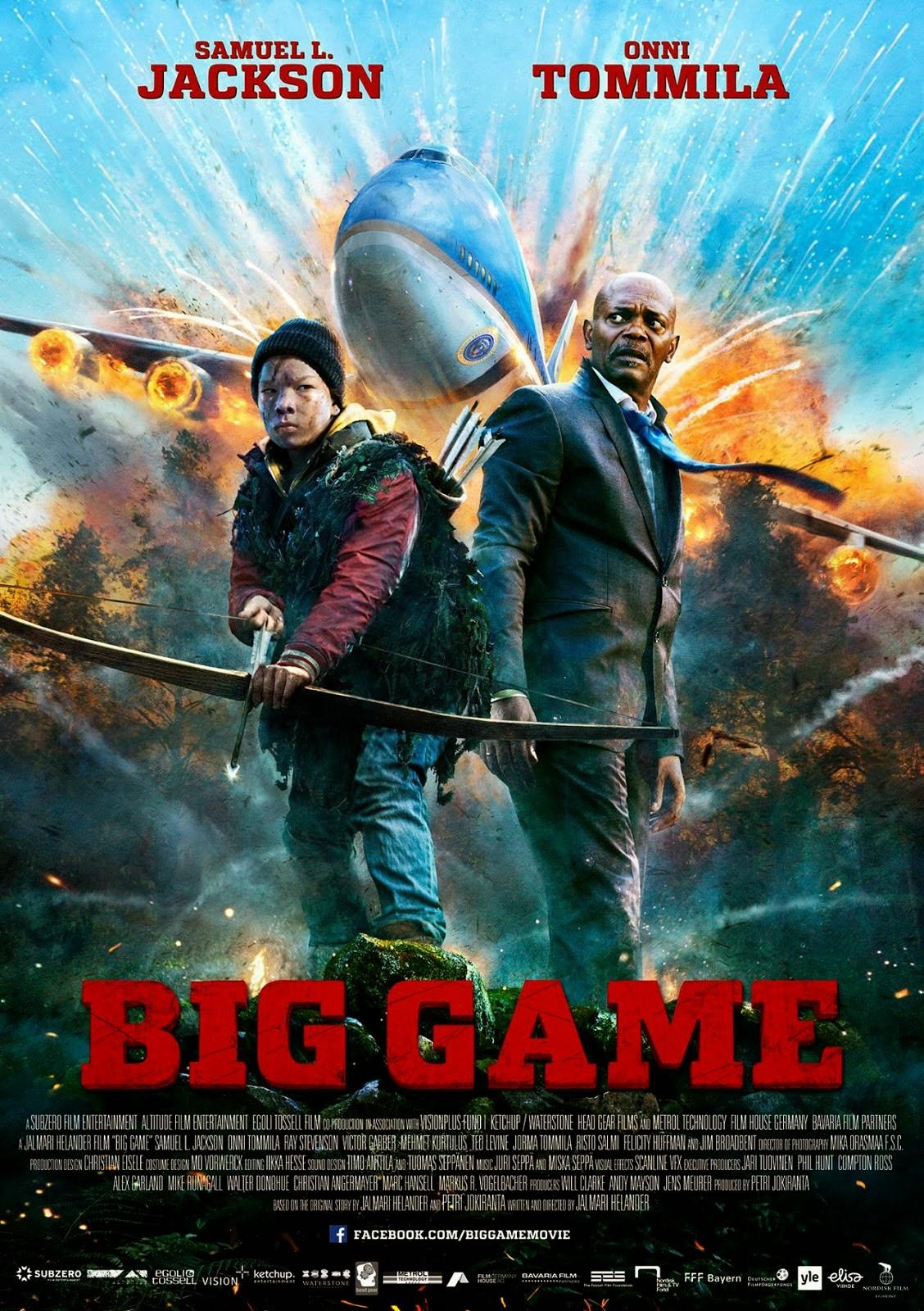 Big Game เกมล่าประธานาธิบดี [HD][พากย์ไทย]