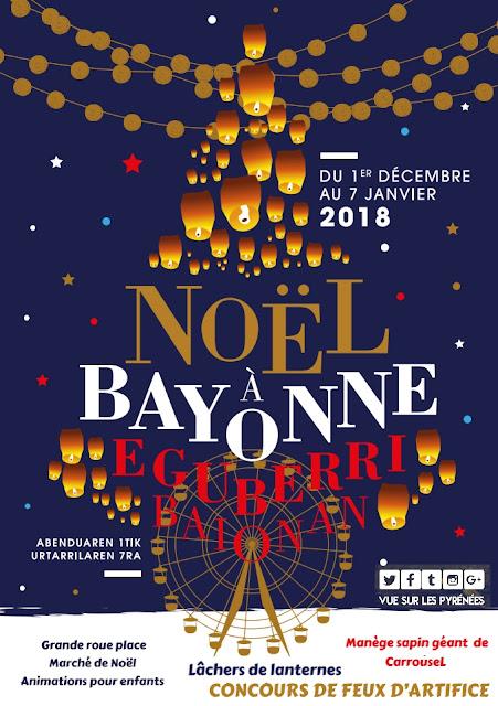 Noël à Bayonne 2017 Pays Basque