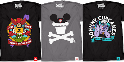 Disney T-Shirt Collection by Johnny Cupcakes