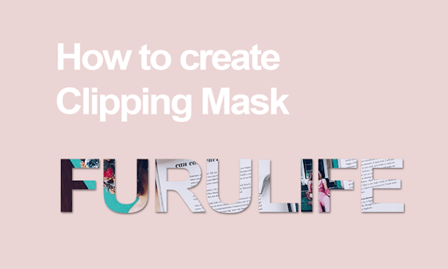 Clipping mask in Photoshop: What is that and how to make one
