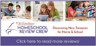 Homeschool Review Crew Click here to learn more logo
