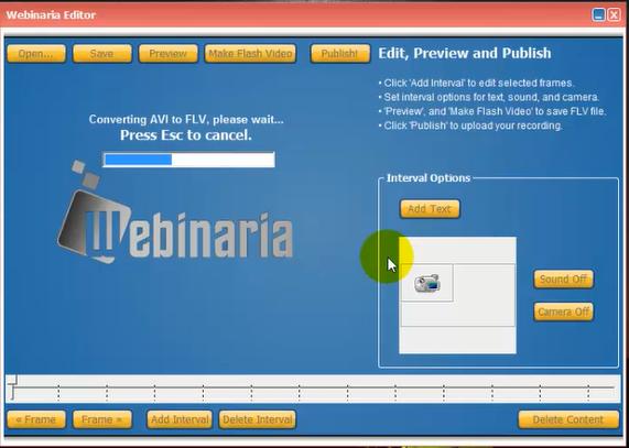 تحميل وتثبيت وشرح برنامج Webinaria بشكل مفصل