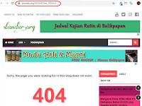 Panduan Menghapus URL 404 dari Google Search Engine