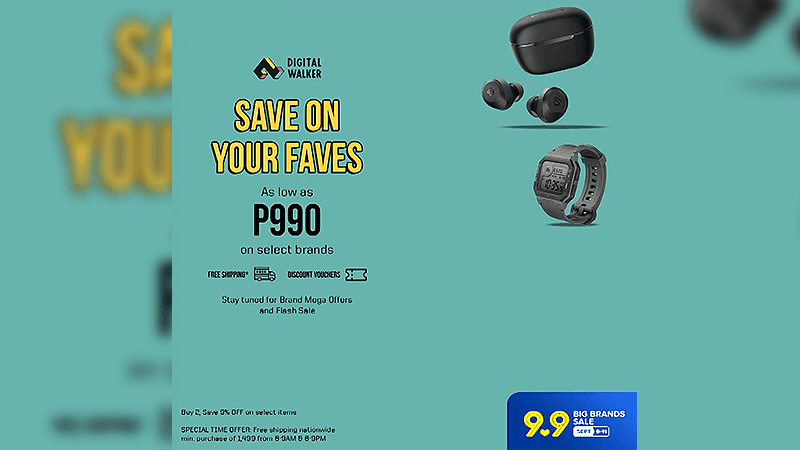 Select products get discounted prices as low as PHP 990