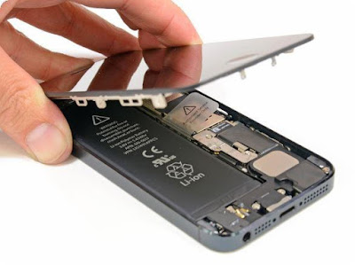 disassembled iphone