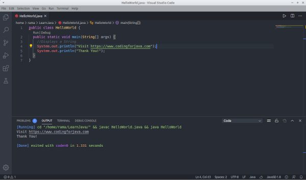 running_java_code_vscode