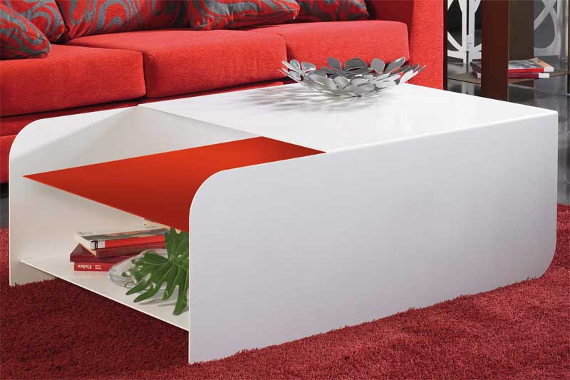 Muebles de forja mesas de centro en forja l nea actual for Linea actual muebles europolis
