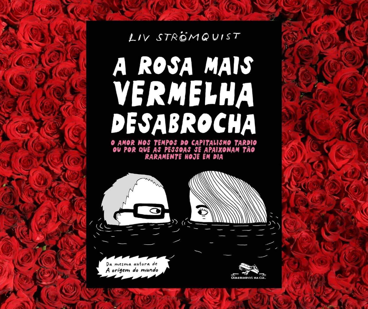 Resenha: A rosa mais vermelha desabrocha, de Liv Strömquist