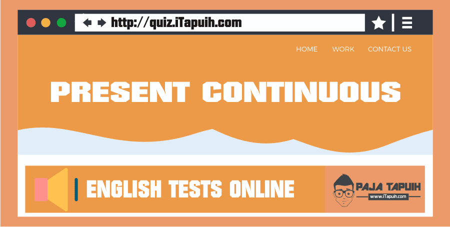 Quiz: Present Continuous Part 1