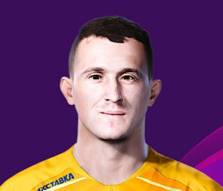 PES 2020 Faces Andrey Lunev by Korneev
