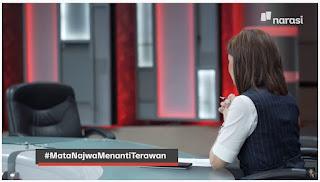 Kocak! Menkes Terawan Takut Hadir, Najwa Akhirnya Mewawancarai Bangku Kosong