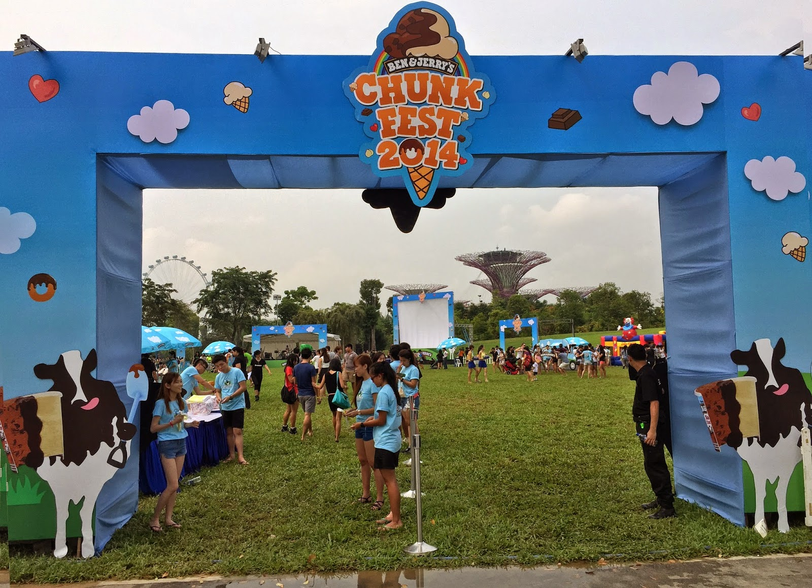 Ben and Jerry's Chunkfest 2014