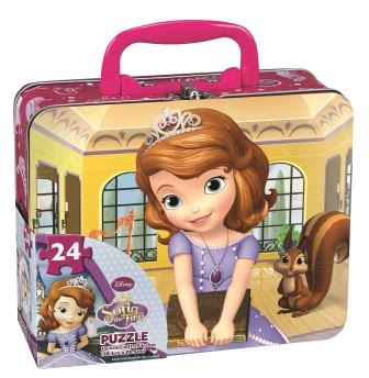 Sofia the First Puzzle Lunch Tin
