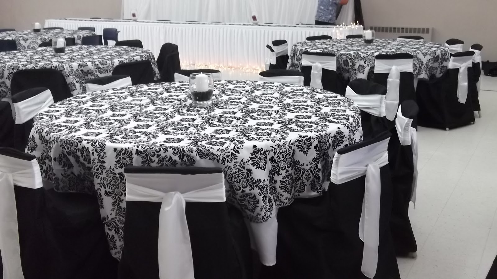 simply elegant chair covers and linens walmart armless diy wedding decor: decor