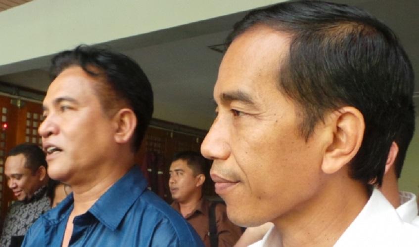 Yusril jadi pengacara Jokowi