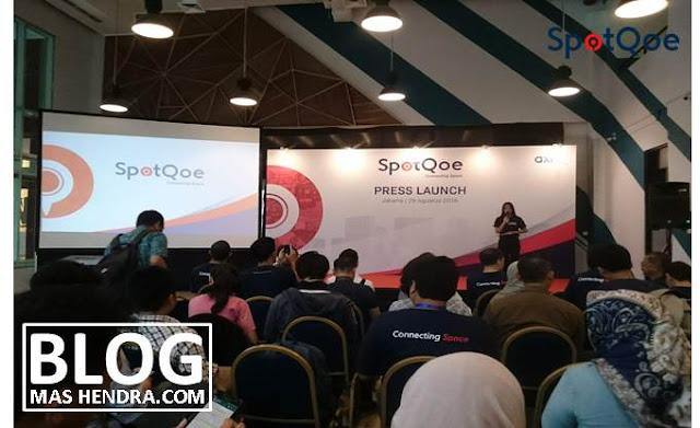 Press Launch Aplikasi SpotQoe - Blog Mas Hendra