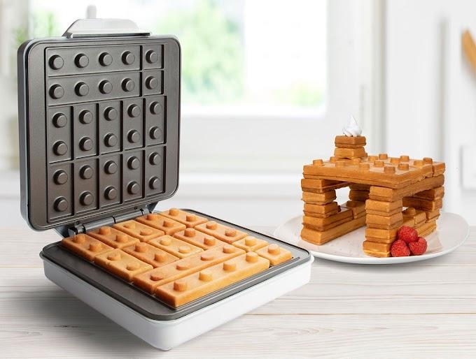 Muy pronto podrás hacerte gofres LEGO y construir con tu desayuno
