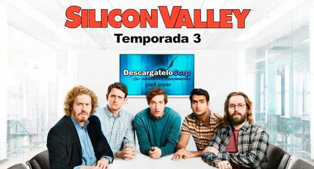 Silicon Valley Temporada 3 HD Completa Latino