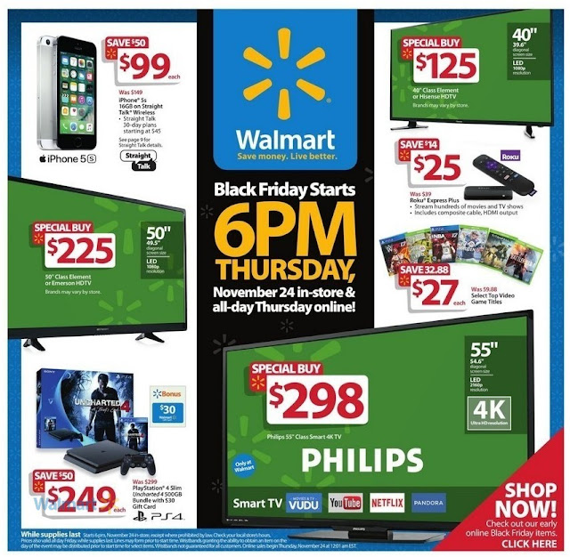 Walmart and Target Black Friday 2016 Deals So Far: HDTV, Xbox One ...