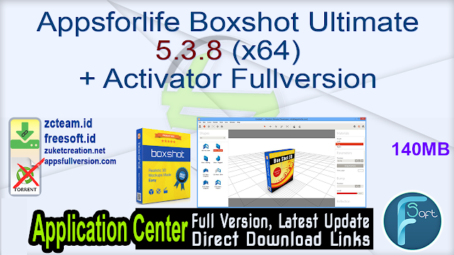 Appsforlife Boxshot Ultimate 5.3.8 (x64) + Activator Fullversion