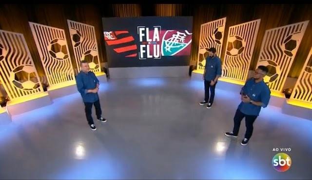 Fla x Flu pelo SBT, flopa em SP e lidera no Rio