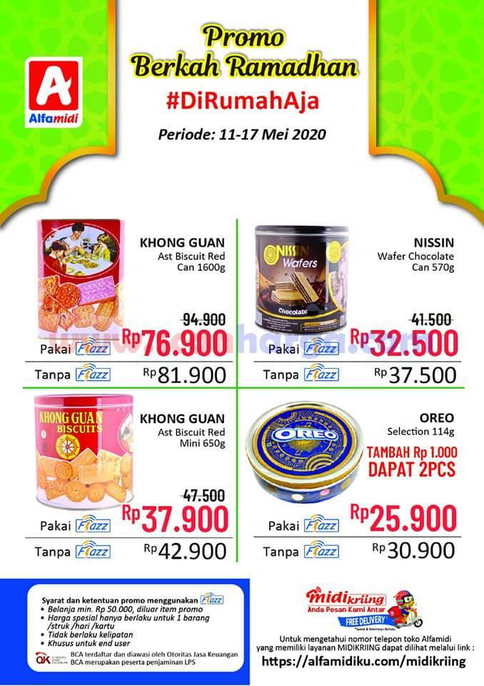 Katalog Alfamidi Berkah Ramadan Promo Flazz Periode 11 - 17 Mei 2020