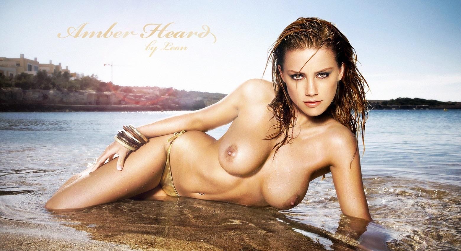 Amber Heard Nude Naked Pussy Boobs Hot Sex Photos 63 Pics-1135